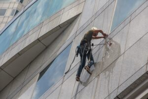 Window Cleaning in a Building